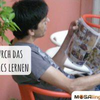Eine Sprache durch das Lesen von Comics lernen