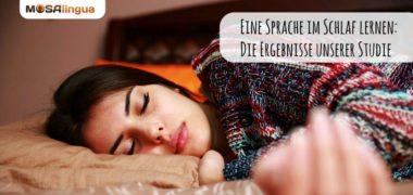 Eine Sprache im Schlaf lernen: die Ergebnisse unserer Studie