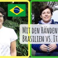 Mit Händen sprechen: brasilianische vs. italienische Gestik – das Video!