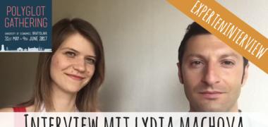 Wie Polyglots Sprachen lernen – Interview mit Lydia Machova