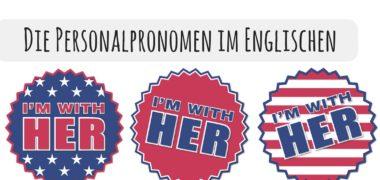 Die Personalpronomen im Englischen