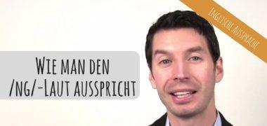 """Video zur englischen Aussprache: der englische """"ng""""-Laut"""