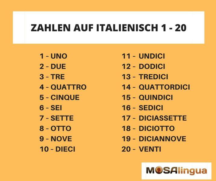 Auf Italienisch