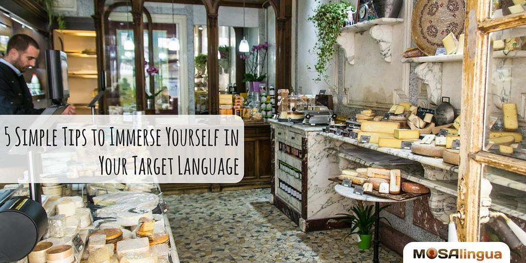 Language Immersion