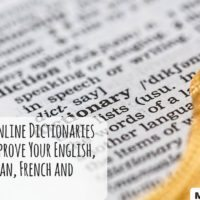 The Best Free Online Dictionaries to Help You Improve Your English, Spanish, German, French and Port...