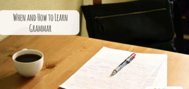 When and How to Learn Grammar