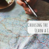 Choosing the Best Place to Learn a Language