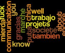 List of the Most Common Words in Spanish, French, Italian and others