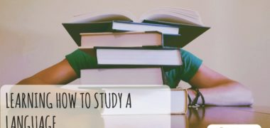 Learning How to Study a Language