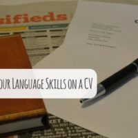 How to Showcase Your Language Skills on a CV