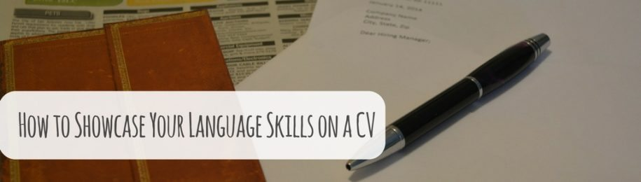 How to Showcase Your Language Skills on a CV Image