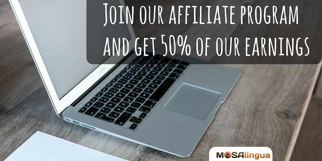 Join MosLingua Affiliate Program