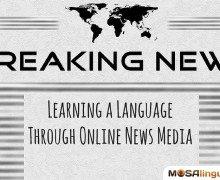 Learn a Language Through Online News Media