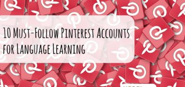 10 Must-Follow Pinterest Accounts for Language Learning