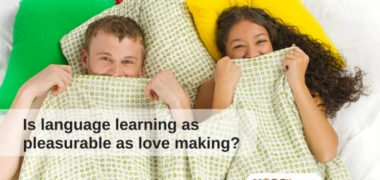 Sex and language learning: same pleasure?