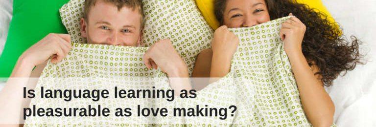 Sex and language learning: same pleasure? Image