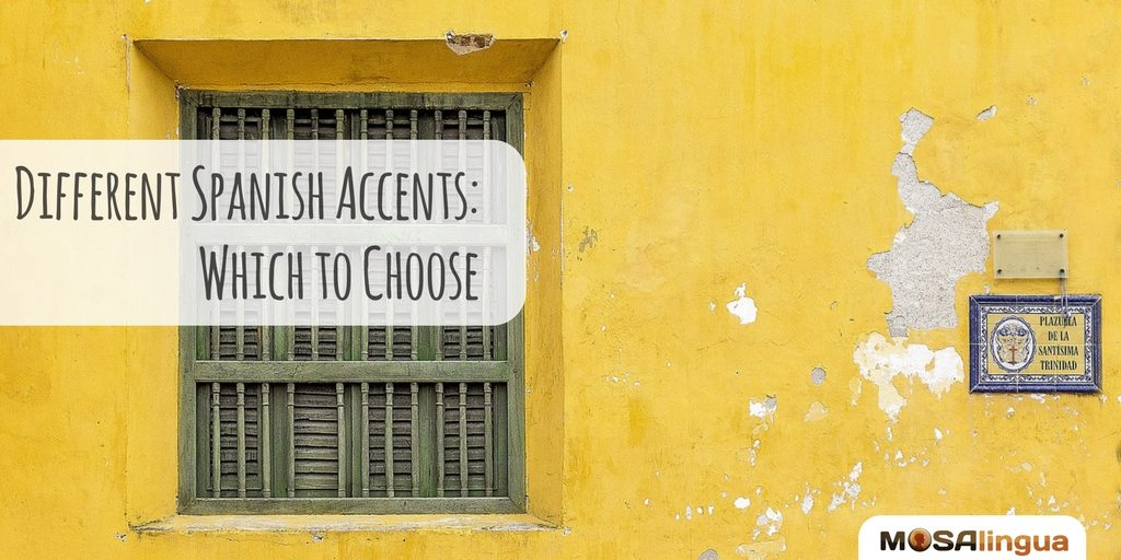 Spanish accents