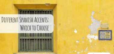 Difference between Spanish Accents: How to Choose the Right One?