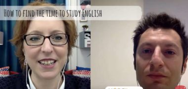 How to find the time to study English?