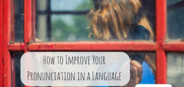 How to Improve Pronunciation in a Language