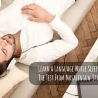 Learn a Language While Sleeping: The Test From MosaLingua Starts Today!