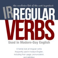 The Final List of English Irregular Verbs - Free eBook