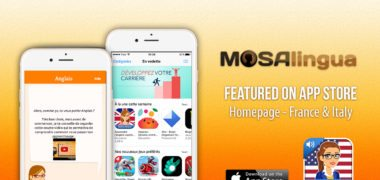 MosaLingua TOEFL and TOEIC apps featured on the App Store