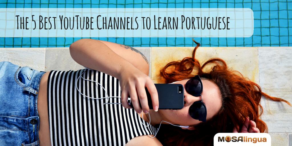 Learn Portuguese - Magazine cover