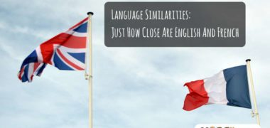 Language Similarities: Just How Close are English and French?