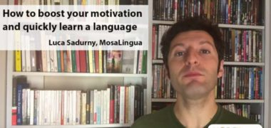 How to Boost Your Motivation to Learn a Language (VIDEO)