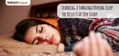 Learning A Language During Sleep: The Results of Our Study