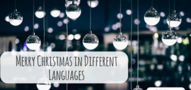How to Say Merry Christmas in Several Languages