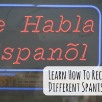 Learn How To Recognize Different Spanish Accents