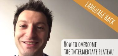 How to overcome the intermediate barrier and become an advanced speaker (Video)