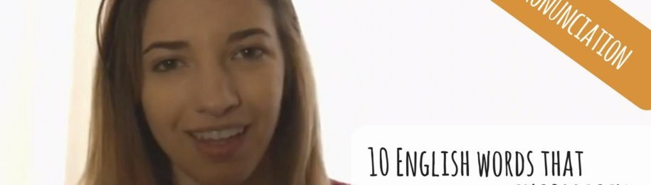 10 English words that you pronounce INCORRECTLY (Video) Image