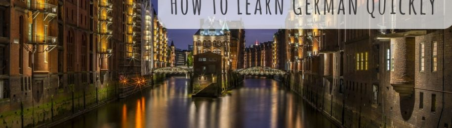 How to Learn German Quickly Image