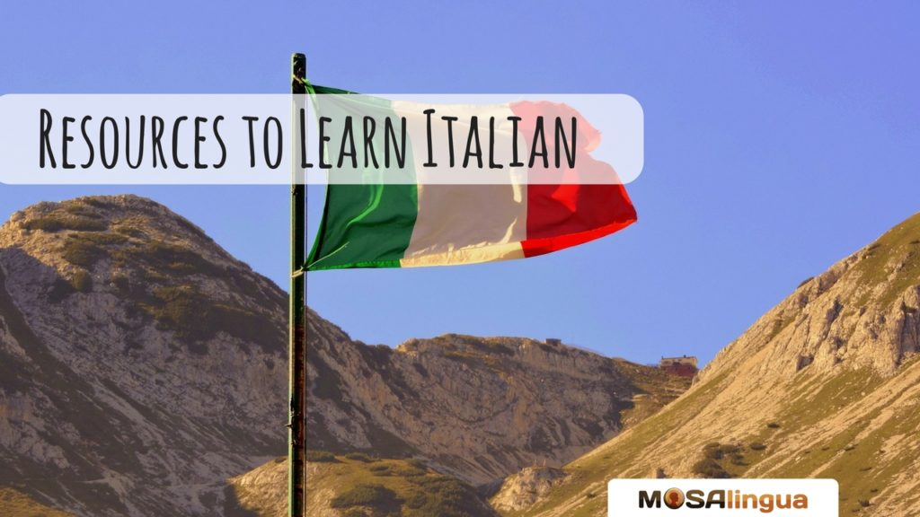 Resources to learn Italian