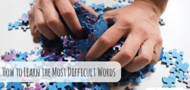 How to Learn Even the Most Difficult Words
