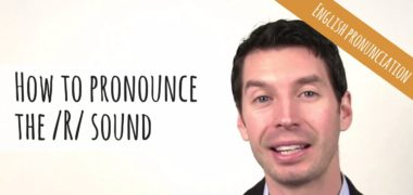 How to Pronounce the /R/ Sound | American English Pronunciation (Video)