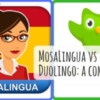 Comparing Duolingo and MosaLingua: what is the best app to learn a language?