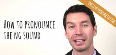 How to pronounce the ng /ŋ/ sound | American English Pronunciation (Video)