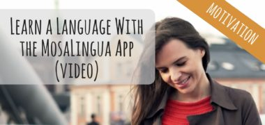 Your Personal Language Coach to Learn a Language  (MosaLingua App Video)