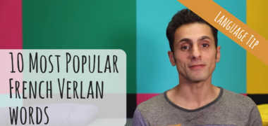 "The 10 Most Popular French ""Verlan"" Words – Secret French Slang (Video)"