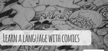 Learn a Language by Reading Comics