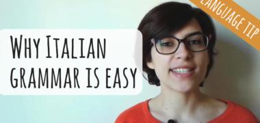 Why Italian Grammar Is Easy ?   Italian Grammar Hacks (Video)
