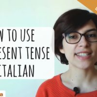 How to Use the Present Tense in Italian (Video)