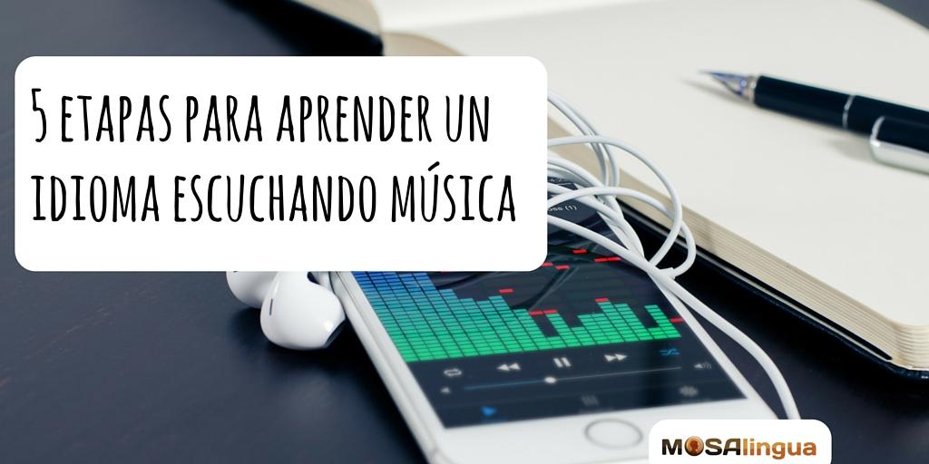 aprender un idioma escuchando música