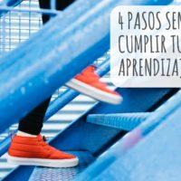 4 pasos sencillos para cumplir tus objetivos de aprendizaje de idiomas