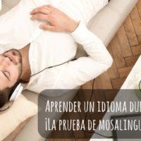 Aprender un idioma durante el sueño: ¡El estudio de MosaLingua empieza hoy!