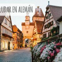 Aprender a saludar en alemán